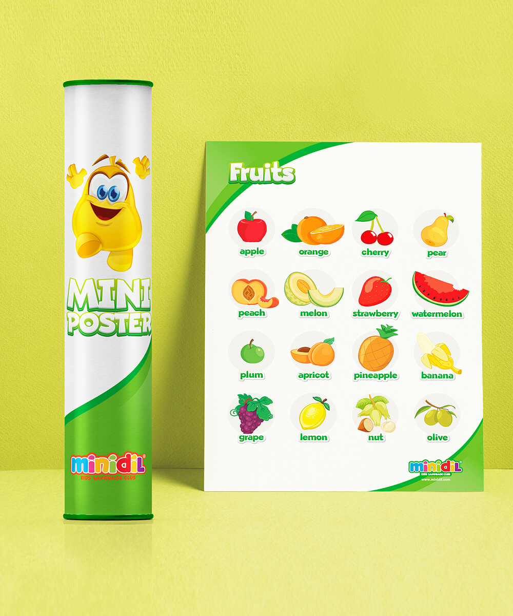 Mini Poster-Fruits