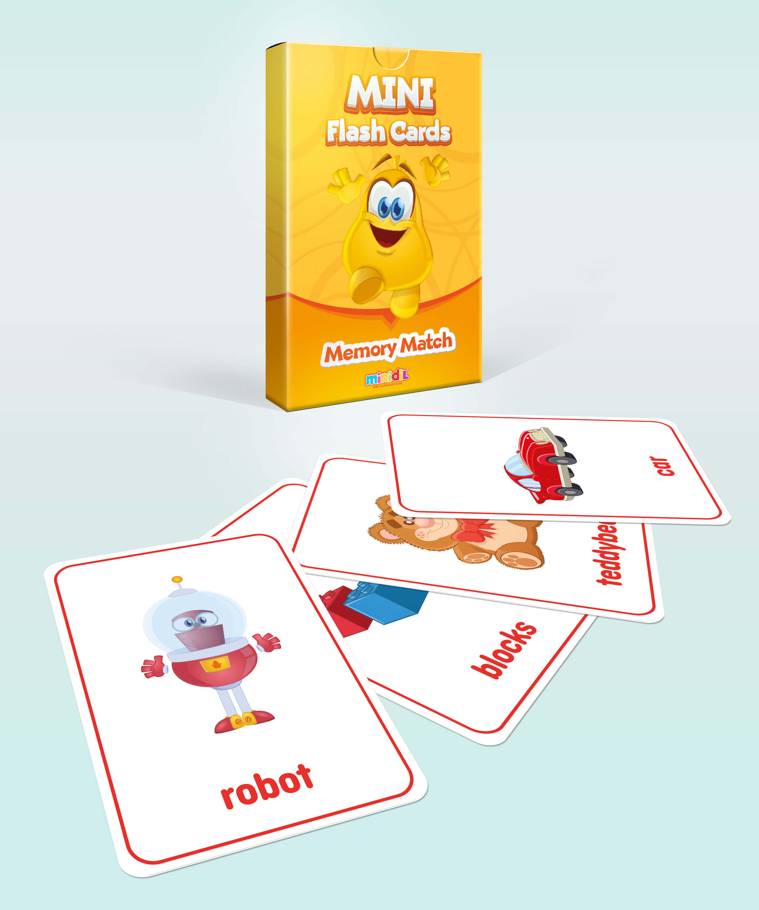 Mini Flash Cards-Toys